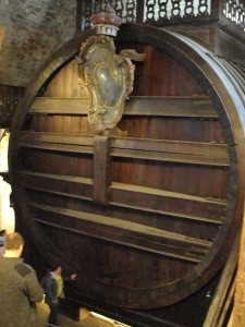 World's Largest Wine Cask