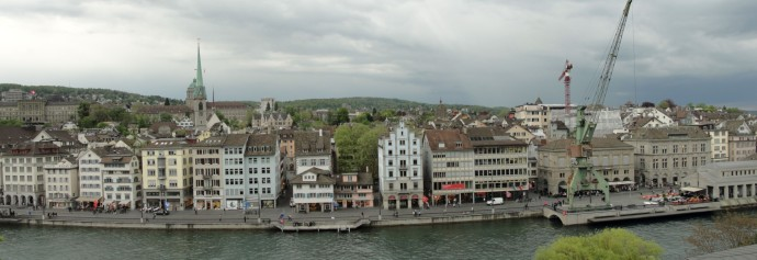 Aldstadt Waterfront in Zürich