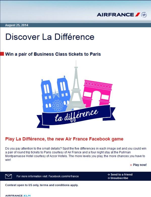 2014-08-25 Air France Contest