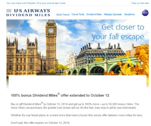 2014-10-03 US Airways Buy Miles Promo