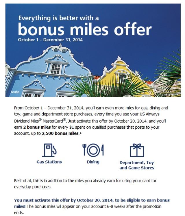 2014-10-03 USDM Credit Card Bonus
