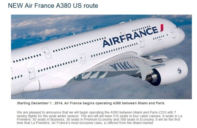2014-10-08 New AF A380 Route