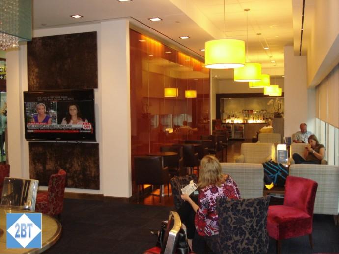 BA First Class Lounge IAH