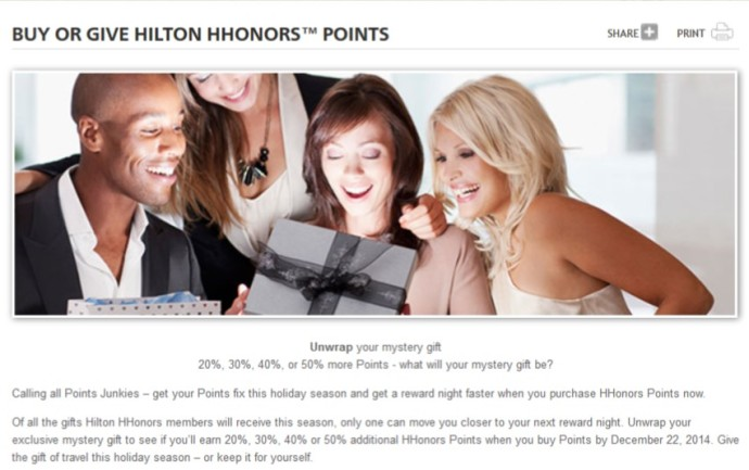 2014-11-25 Hilton Points Sale