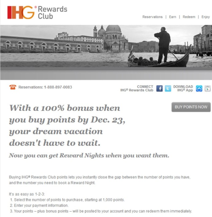 2014-12-13 IHG Points Sale