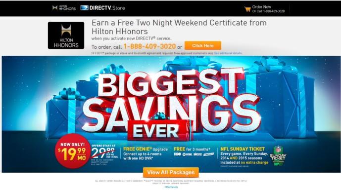 2014-12-19 Hilton DirecTV Promo