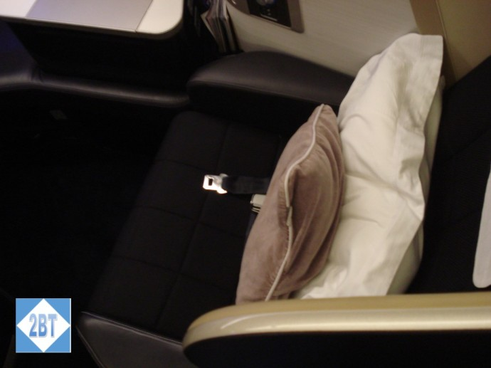 BA 196 Seat 3K