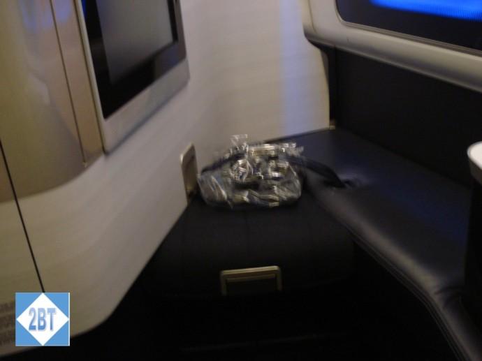 BA 196 Seat 3K Footrest