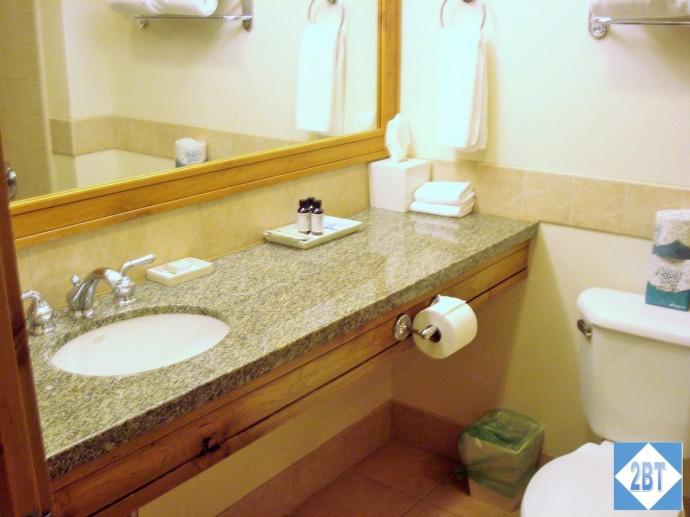 Grand Summit Bedroom #2 Bathroom Sink & Vanity