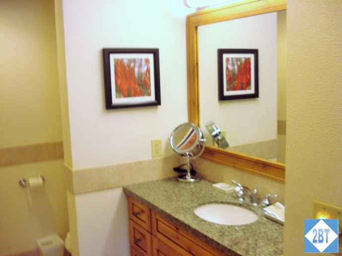 Grand Summit Master Bathroom Sink & Vanity
