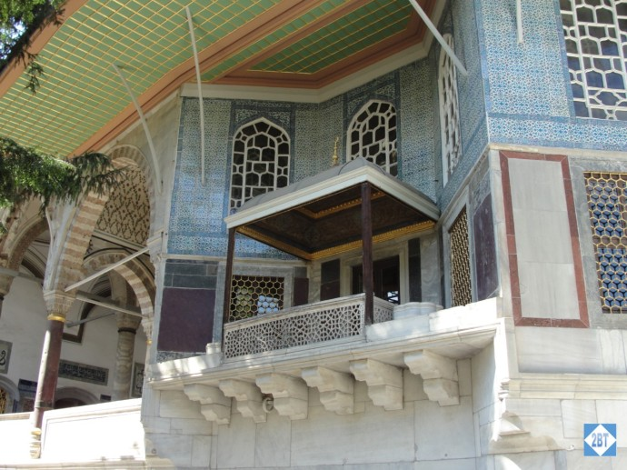 Balcony of Topkapi Palace