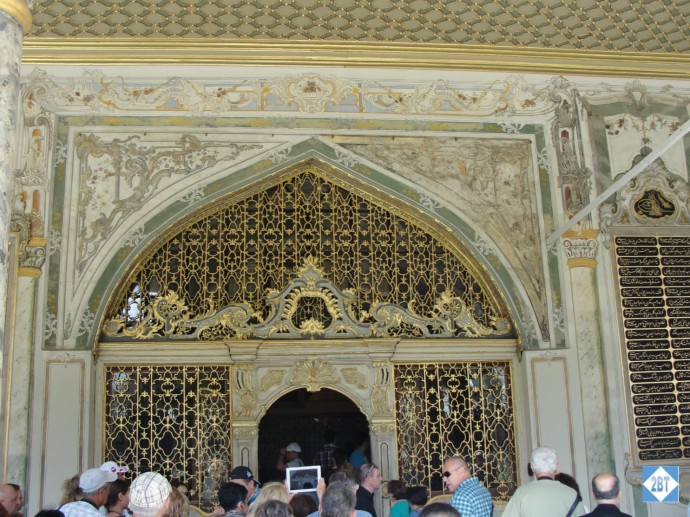 Ornate Gate inside the Topkapi Palace