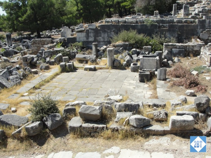 Remains of Athena's Temple