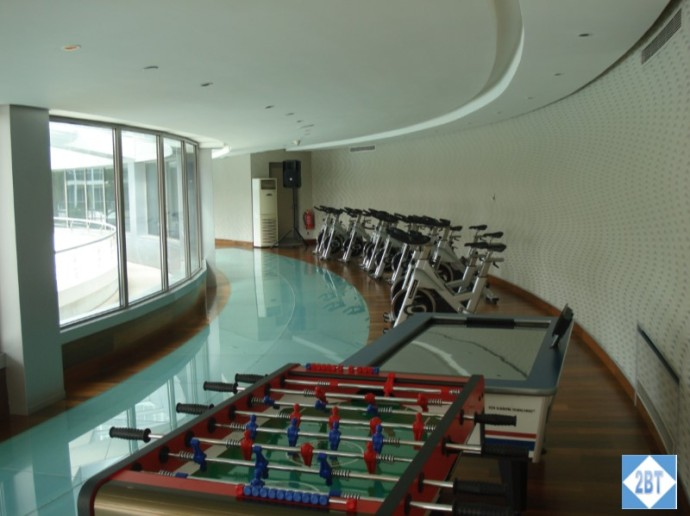 Swissotel Gym Cycles