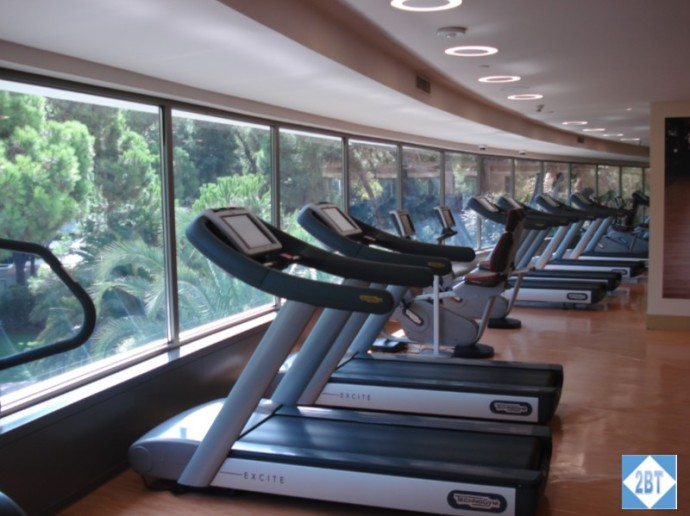 Swissotel Gym Treadmills