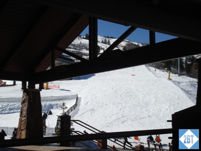 View of the slopes from the Grand Summit
