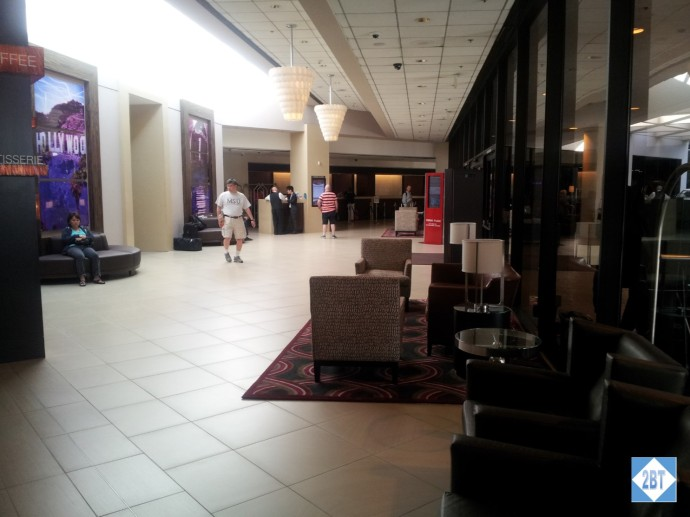 Crowne Plaza LAX Foyer