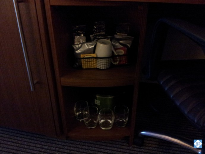 Hyatt Place LAX Coffee and Glasses