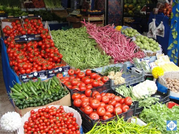 Fresh Produce Market near Radisson Blu Istanbul