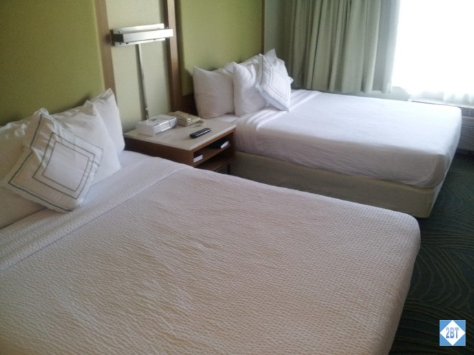 SpringHill Suites Arcadia Queen Beds