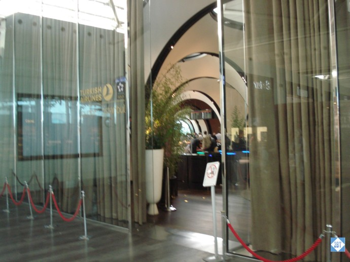 TK Lounge Entrance