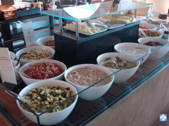 TK Lounge Food