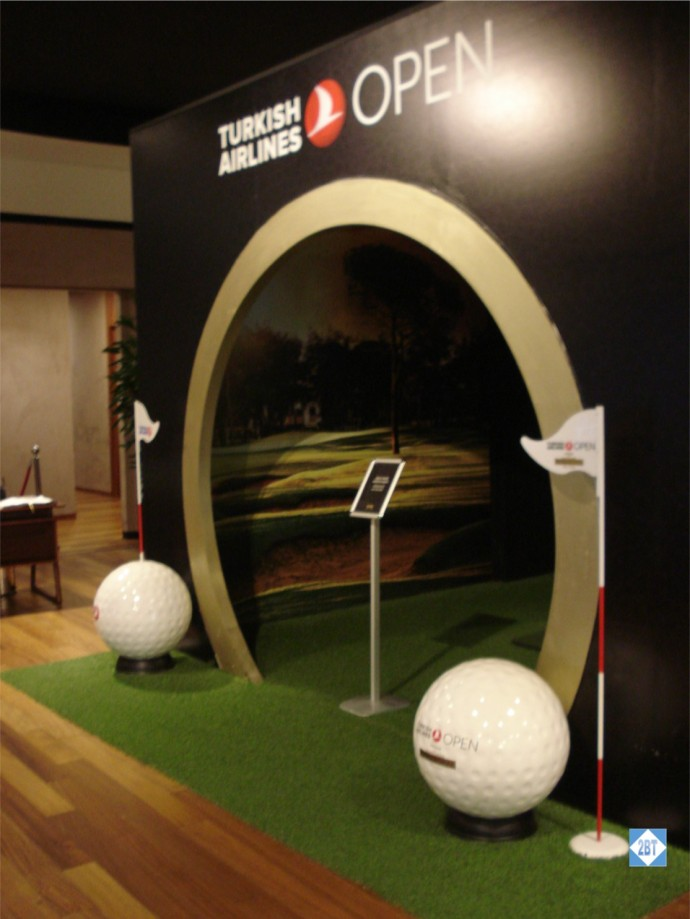 TK Lounge Golf Exhibit