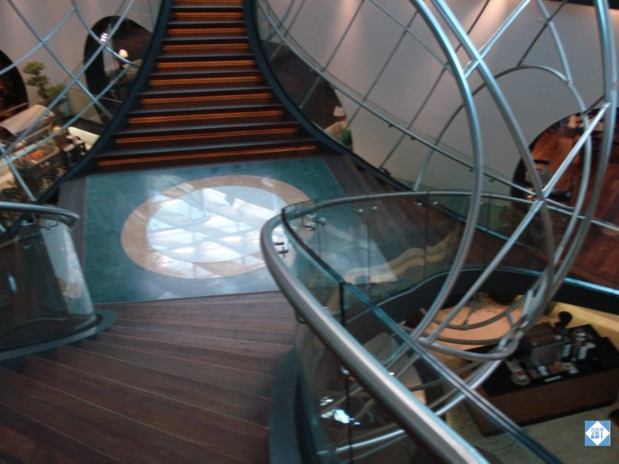 TK Lounge Stairs