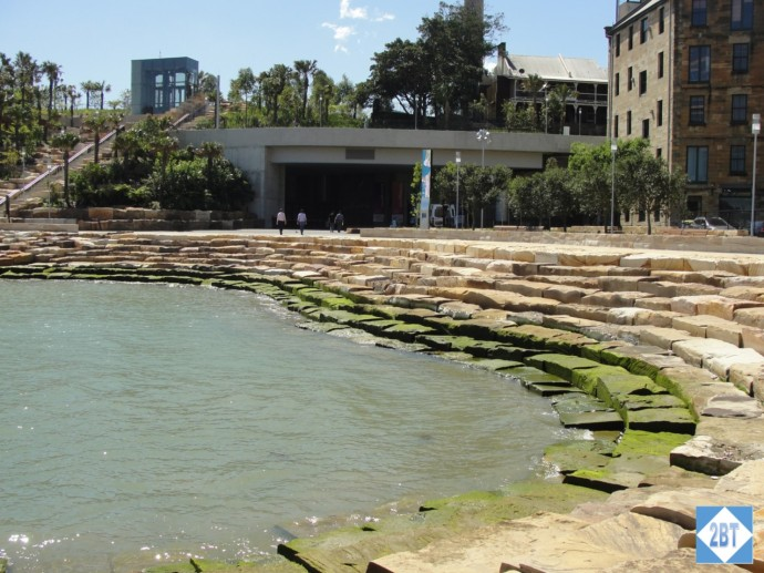 The amphitheater at Barangaroo Reserve