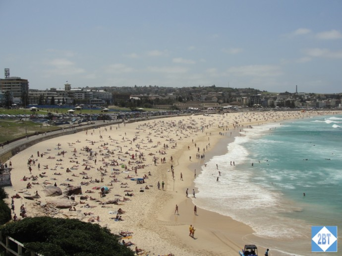 It's Saturday, time to hit the beach at Bondi!