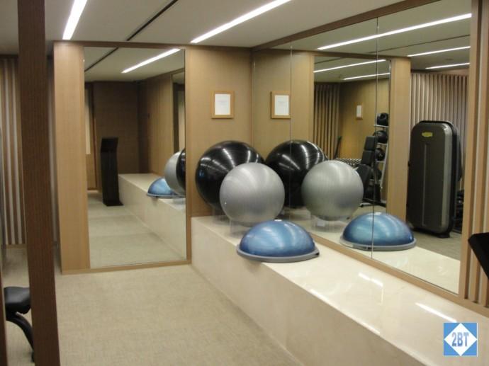 Balance/Stretching/Yoga area