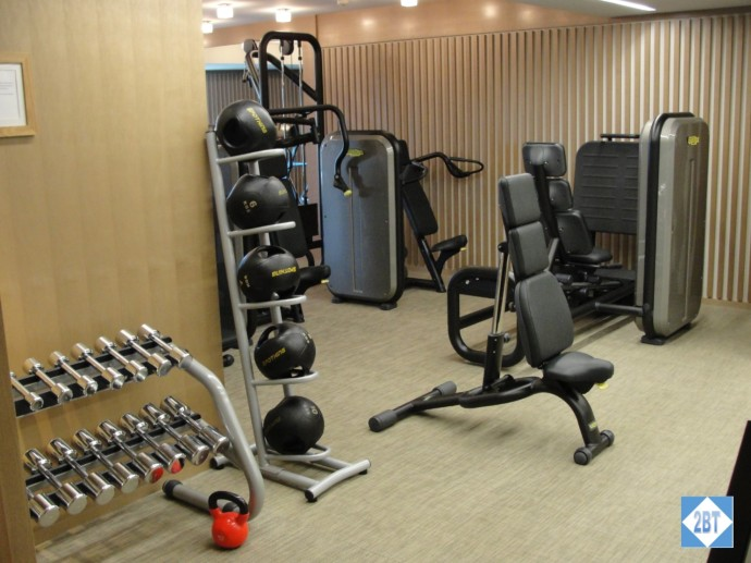 Weight-lifting area