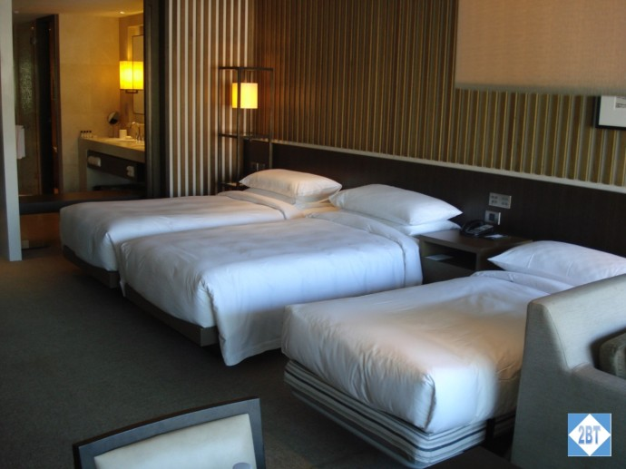 Park Hyatt Sydney Harbour View Twin Room with rollaway bed