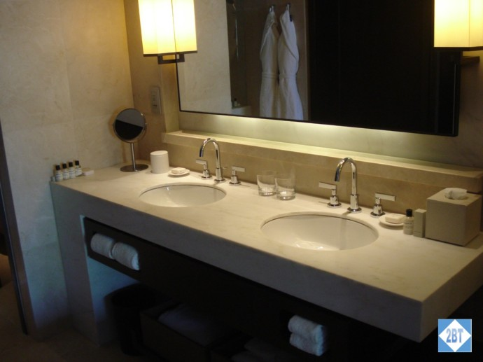 Large double vanity - we loved it!