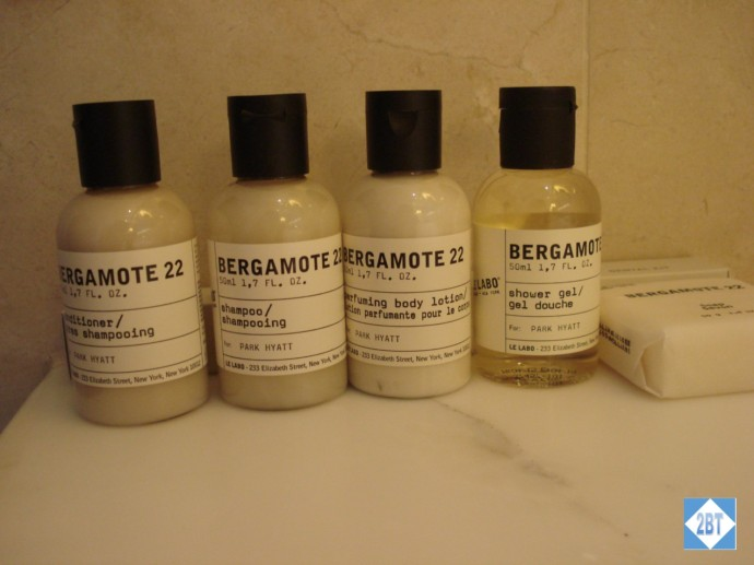 Park Hyatt Sydney Toiletries