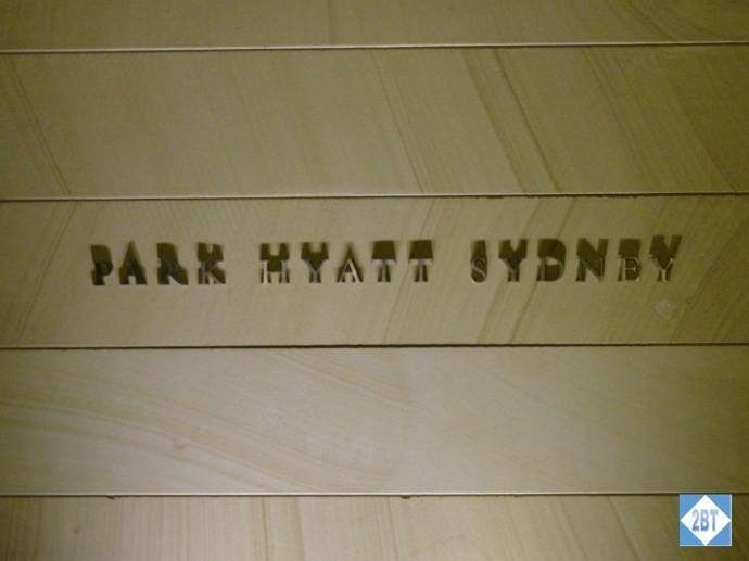 Welcome to the Park Hyatt