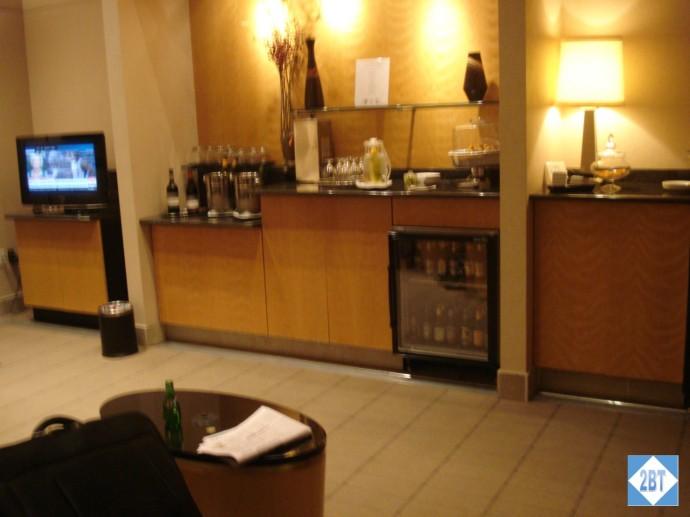 Qantas Lounge DFW Inside First Class Room