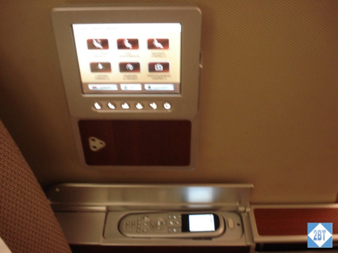 Seat Control Panel and IFE Controller