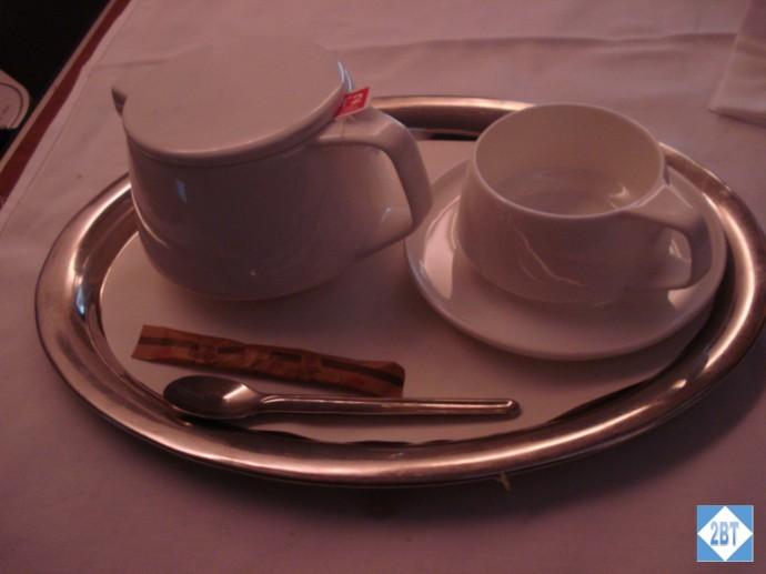 After-dinner tea service