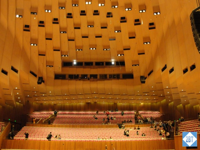 Seating in the Concert Hall