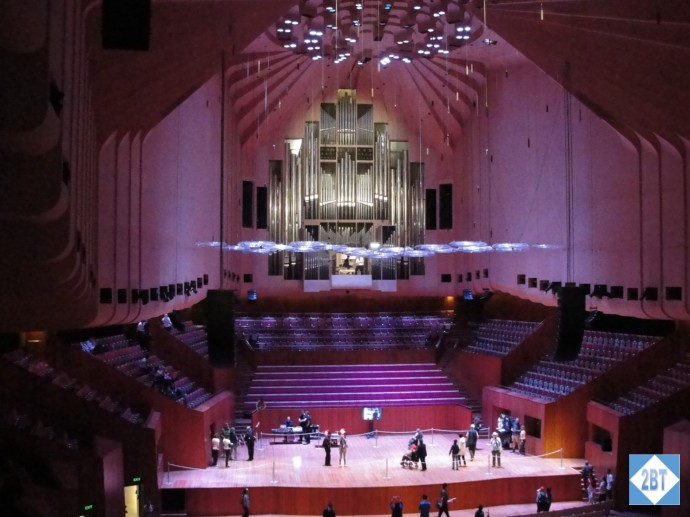 The main concert hall