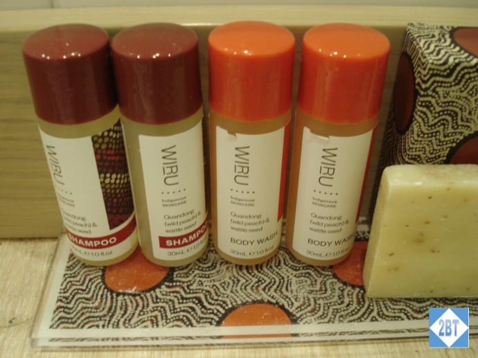 Wiru brand toiletries
