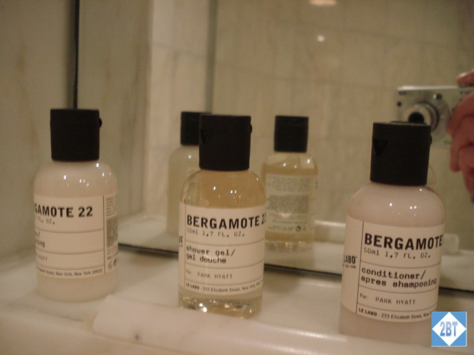Park Hyatt Melbourne Toiletries