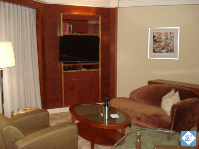 Park Hyatt Melbourne Club Room Sitting Area
