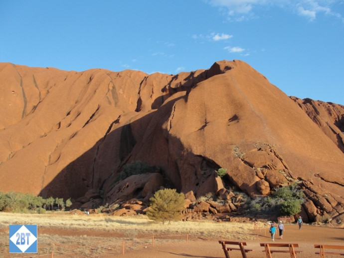 Uluru is 348 meters tall - roughly the same as a 95 story building