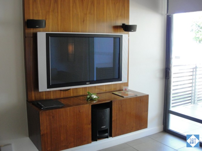 Entertainment Center in the living area