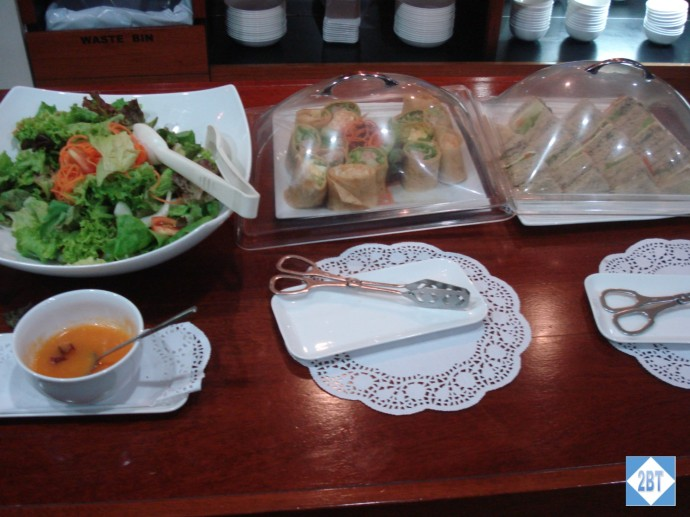 Fiji Air Tabua Lounge Salad, Wraps and Sandwiches