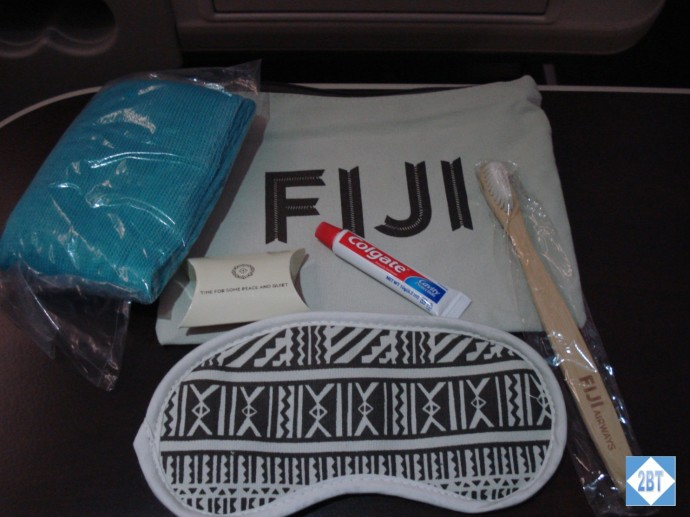 Fiji Airways Business Class Amenity Kit