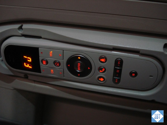 Fiji Airways Business Class Entertainment Controller