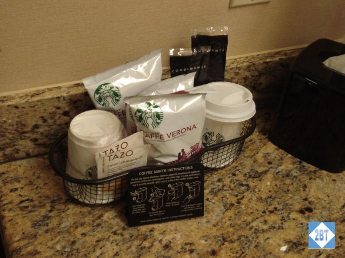 Hyatt Regency DFW Coffee
